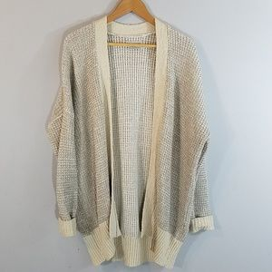 Urban Outfitters Over Sized Open Front Cardigan XS